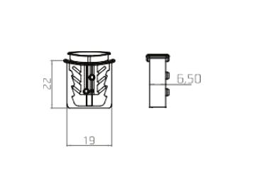 Пломба-защелка GP-125 c тросом - Фото 4